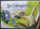 Poštovní známka SAR 2011 Brouci Mi# Block 709 Kat 10€