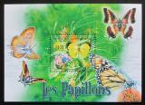 Poštovní známka SAR 2011 Motýli Mi# Mi# Block 711 Kat 9.50€