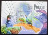 Poštovní známka SAR 2011 Pávi Mi# Mi# Block 714 Kat 9.50€