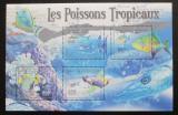 Poštovní známky SAR 2011 Tropické ryby Mi# Mi# 2998-3001 Kat 10€