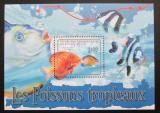Poštovní známka SAR 2011 Tropické ryby Mi# Mi# Block 712 Kat 9.50€