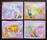 Poštovní známky SAR 2011 Orchideje Mi# 2968-71 Kat 10€