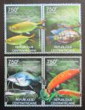 Poštovní známky SAR 2012 Sladkovodní ryby Mi# 3627-30 Kat 14€