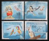 Poštovní známky SAR 2011 Ptáci Mi# Mi# 3003-06 Kat 10€