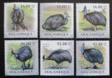 Poštovní známky Mosambik 2011 Kasuár přílbový Mi# 4342-47 Kat 14€