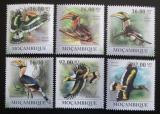 Poštovní známky Mosambik 2011 Dvojzoborožec žlutozobý Mi# 4360-65 Kat 14€