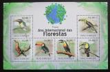 Poštovní známky Mosambik 2011 Tukani Mi# 4354-59 Kat 14€