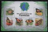 Poštovní známky Mosambik 2011 Monarcha stěhovavý Mi# 4270-75 Kat 14€