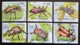 Poštovní známky Mosambik 2012 Brouci Mi# 5747-52 Kat 14€