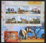 Poštovní známky Mosambik 2012 Fauna NP Kruger Mi# Mi# 6048-53 Kat 14€