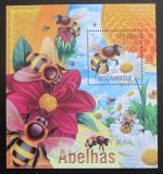 Poštovní známka Mosambik 2013 Včely Mi# Block 770 Kat 10€