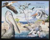 Poštovní známka Mosambik 2011 Pelikáni Mi# Block 499 Kat 10€