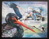 Poštovní známka Mosambik 2011 Čápi Mi# Block 500 Kat 10€