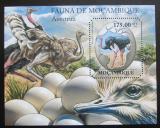 Poštovní známka Mosambik 2011 Pštrosi Mi# Block 503 Kat 10€