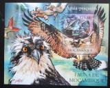 Poštovní známka Mosambik 2011 Orlovec Mi# Block 505 Kat 10€