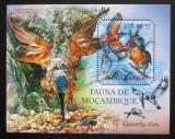 Poštovní známka Mosambik 2011 Ledňáčci Mi# Block 497 Kat 10€