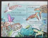 Poštovní známka Mosambik 2011 Mořské želvy Mi# Block 495 Kat 10€