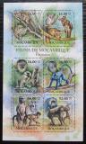 Poštovní známky Mosambik 2011 Opice Mi# 5036-41 Kat 12€