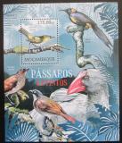 Poštovní známka Mosambik 2012 Vyhynulí ptáci Mi# Block 624 Kat 10€