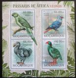 Poštovní známky Mosambik 2012 Vyhynulí ptáci Afriky Mi# 5841-44 Kat 15€