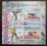 Poštovní známky Mosambik 2012 Vyhynulí ptáci Mi# 5738-41 Kat 15€