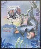 Poštovní známka Mosambik 2012 Vyhynulí netopýři Mi# Block 644 Kat 10€
