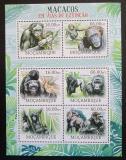 Poštovní známky Mosambik 2012 Hominidé Mi# 5824-29 Kat 14€