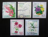 Poštovní známky Japonsko 2015 Květiny Mi# 7333-37 Kat 8€