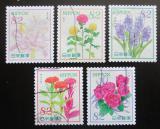 Poštovní známky Japonsko 2016 Květiny Mi# 8006-10 Kat 8€