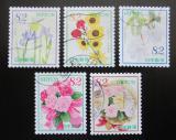 Poštovní známky Japonsko 2019 Květiny Mi# 9627-31 Kat 8€