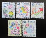 Poštovní známky Japonsko 2018 Den psaní dopisů Mi# 9194-98 Kat 8€