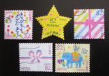 Poštovní známky Japonsko 2017 Den psaní dopisů Mi# 8624-28 Kat 8€