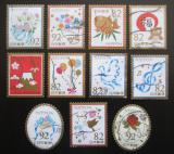 Poštovní známky Japonsko 2016 Pozdravy Mi# 8110-20 Kat 18.40€