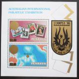 Poštovní známky Penrhyn 1986 Výstava STAMPEX Mi# Block 72 Kat 10€