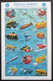 Poštovní známky Palau 1998 Potřeby potápěčů Mi# 1280-97 Kat 15€