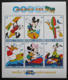 Poštovní známky Antigua 1999 Disney, Mickey Mouse Mi# 2861-66