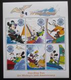 Poštovní známky Antigua 1999 Disney, Mickey Mouse Mi# 2873-78