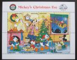 Poštovní známky Grenada 1988 Disney postavičky, vánoce Mi# 1911-18 Kat 8€