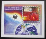 Poštovní známka Guinea-Bissau 2007 Start Sputniku I., 50. výročí Mi# 3674 Block