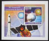 Poštovní známka Guinea-Bissau 2007 Start Sputniku I., 50. výročí Mi# 3676 Block