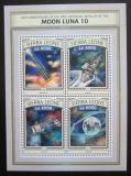 Poštovní známky Sierra Leone 2016 Průzkum Měsíce Mi# 7843-46 Kat 11€