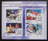 Poštovní známky Guinea 2016 Vesmírné rekordy Mi# 11716-19 Kat 16€