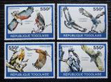 Poštovní známky Togo 2010 Dravci Mi# 3439-42 Kat 8.50€