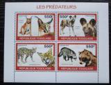 Poštovní známky Togo 2010 Predátoři Mi# 3459-62 Kat 8.50€