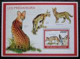 Poštovní známka Togo 2010 Predátoři Mi# Block 503 Kat 8€