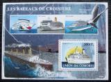 Poštovní známka Komory 2008 Slavné lodě Mi# Block 446 Kat 15€