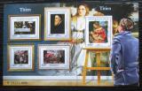 Poštovní známky Niger 2015 Umění, Tizian Mi# 3692-96 Kat 24€