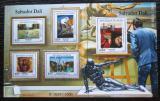 Poštovní známky Niger 2015 Umění, Dalí Mi# 3737-41 Kat 24€