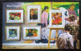 Poštovní známky Niger 2015 Umění, Paul Gauguin Mi# 3707-11 Kat 24€