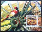 Poštovní známka Svatý Tomáš 2003 Bažanti Mi# Block 437 Kat 11€